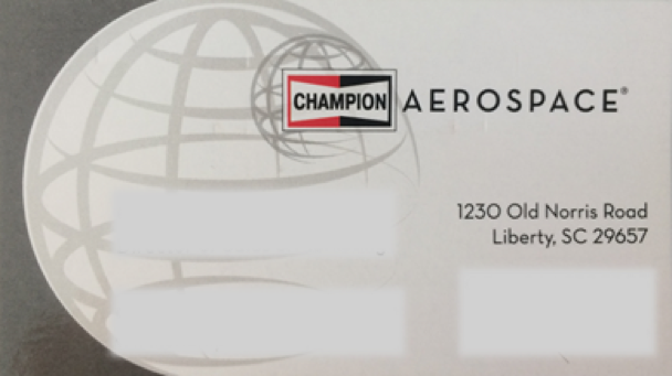 champion business cards